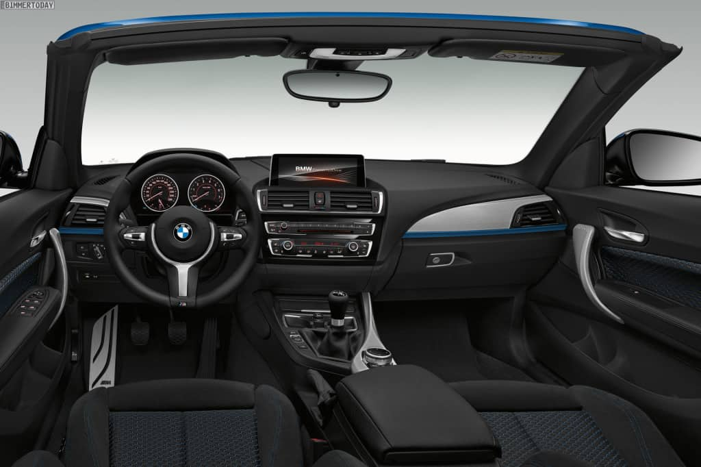 2er-Cabrio-Innenraum