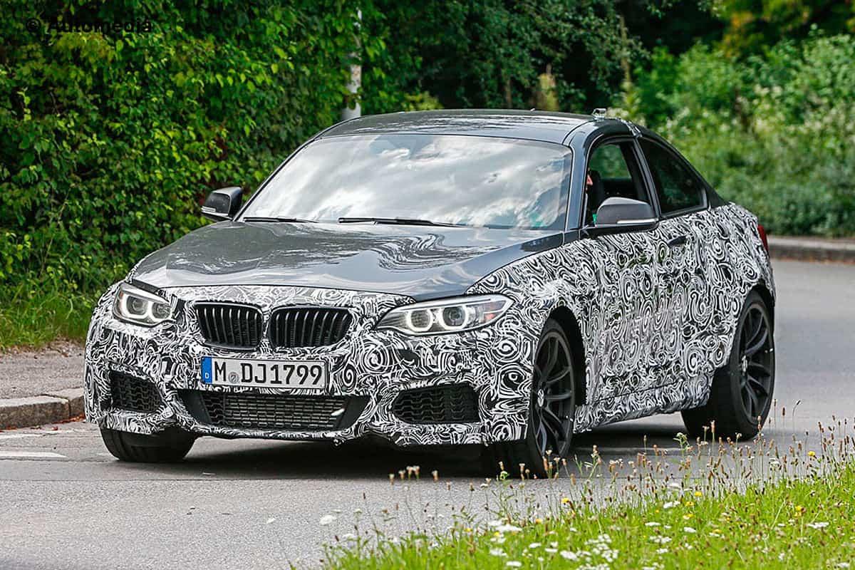 BMW M2 Erlkönig Autobild