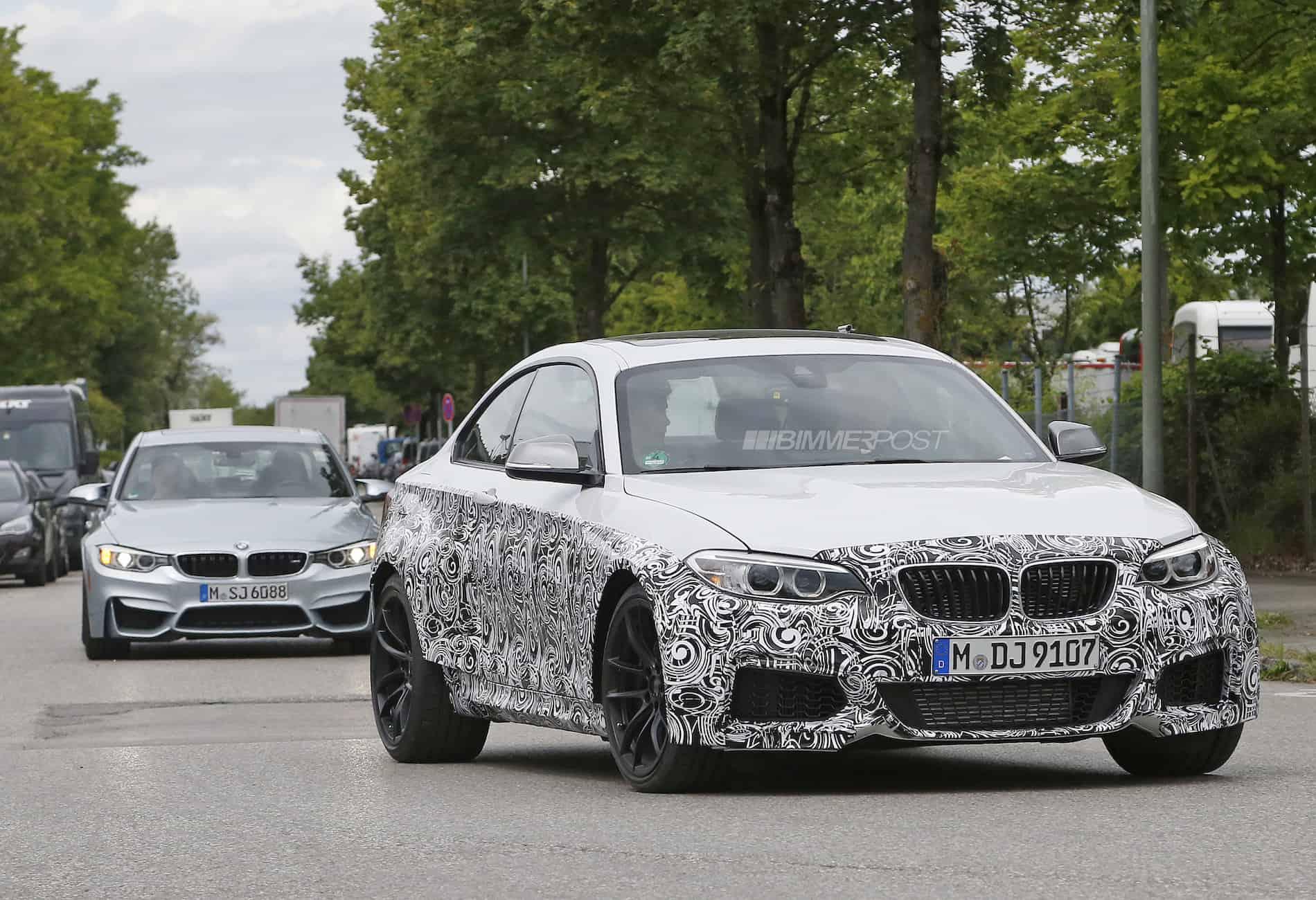 BMW M2 Erlkönig Bimmerpost