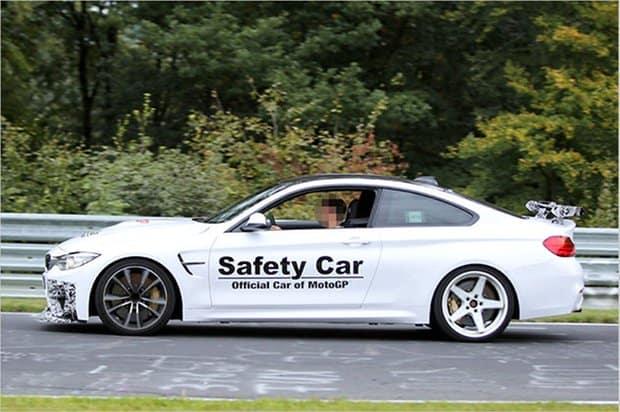 BMW M4 GTS Erlkönig auf dem Nürburgring