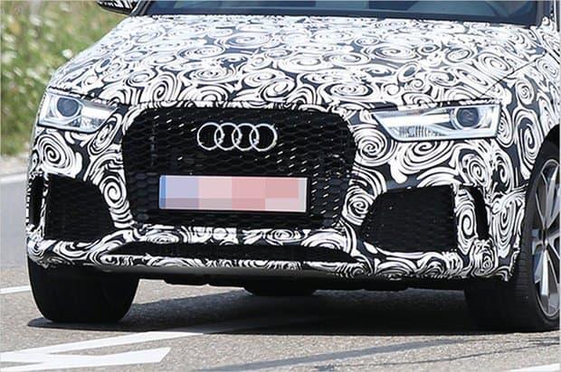 Frontschürze des neuen Audi RS Q3