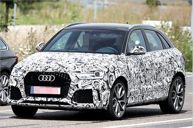 Erlkönig: Audi RS Q3