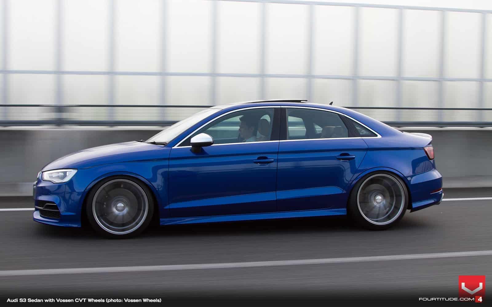 Photoshooting Audi S3 Limousine Mit Vossen Cvt Felgen