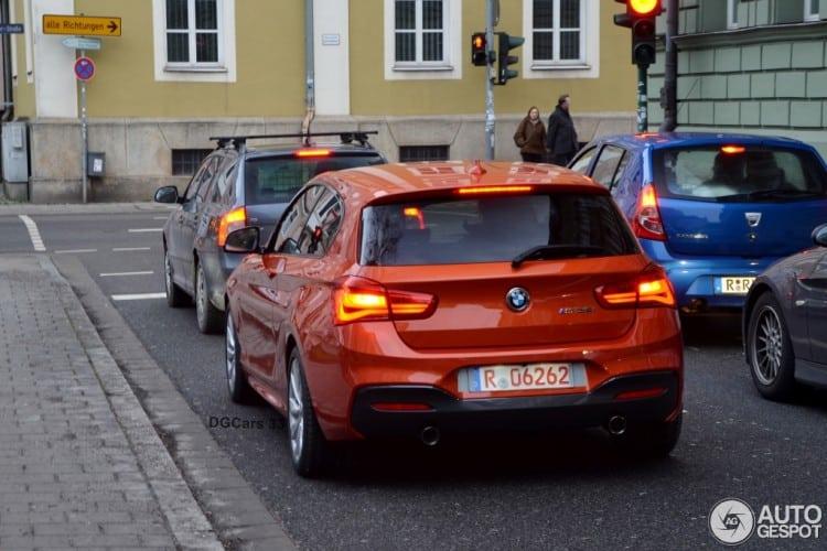 2015-BMW-M135i-Facelift-F21-LCI-F20-Valencia-Orange-Autogespot-02-750×500