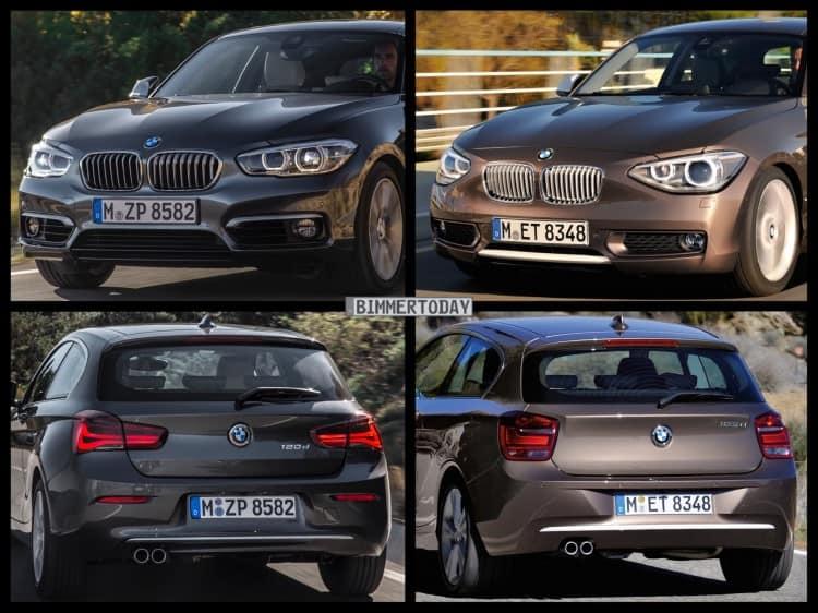 Bild-Vergleich-BMW-1er-Facelift-2015-Urban-Line-F21-LCI-vs-Pre-Facelift-02-750×562