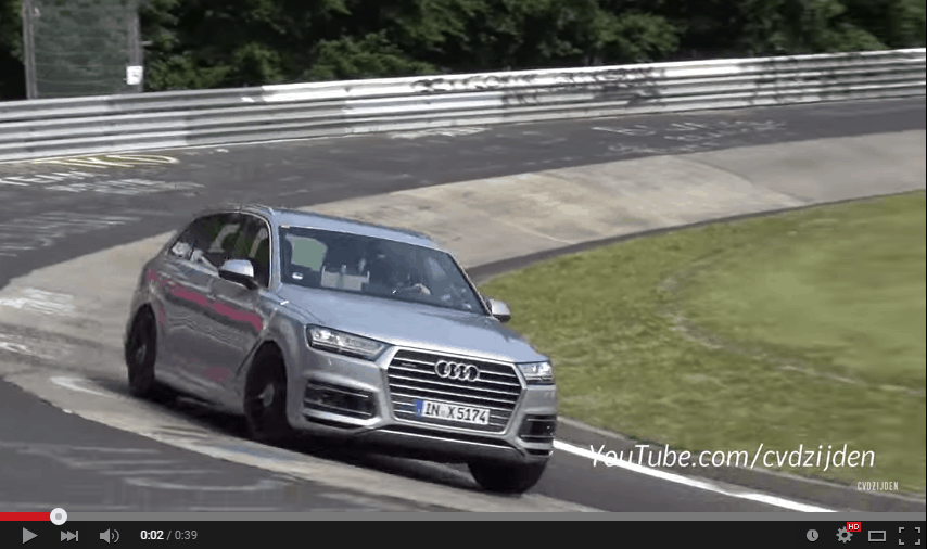 Video: Audi SQ7 Crash auf dem Nürburgring
