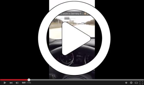 Video: Deutsche Autobahn