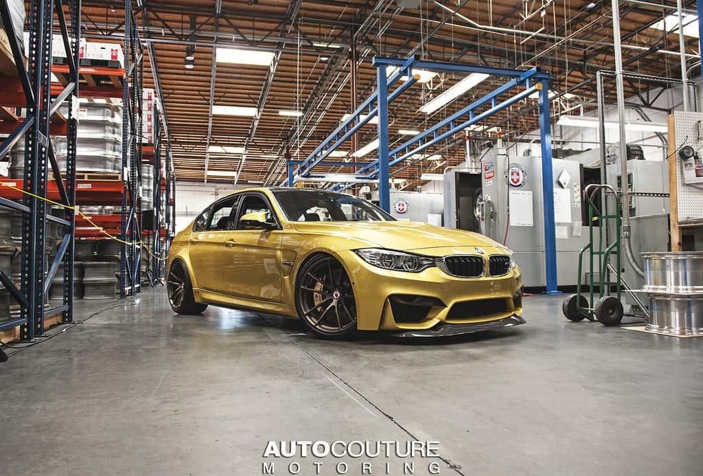 BMW M3 F80 und BMW M4 F82 mit HRE Felgen by Autocoutur