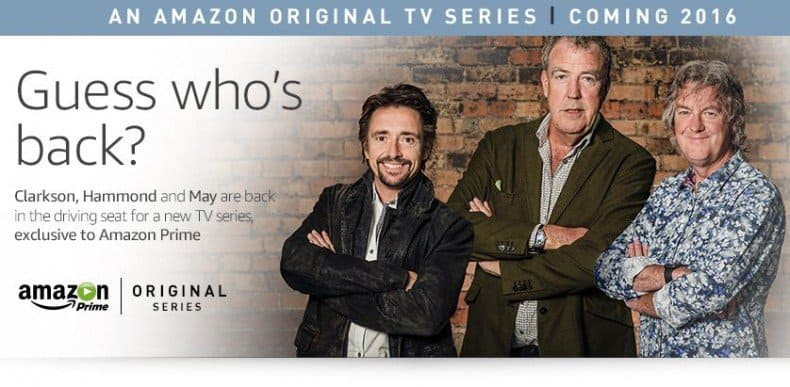 Top Gear bei Amazon Instant Video