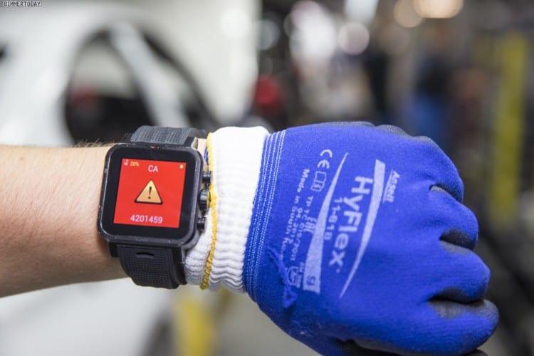 Smartwatches sollen die Produktion bei BMW vereinfachen