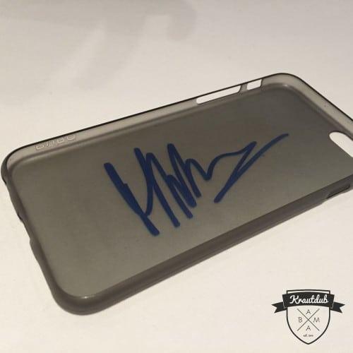 Autogramm von Marco Wittmann auf iPhone 6 Cover