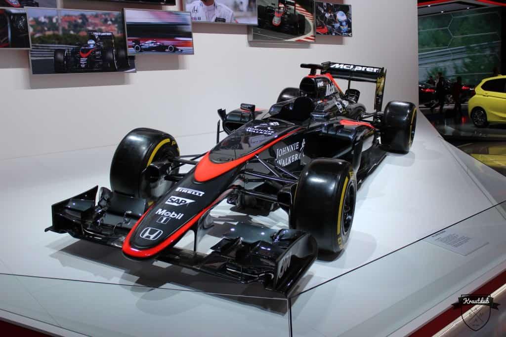 McLaren Formel 1 @ IAA 2015