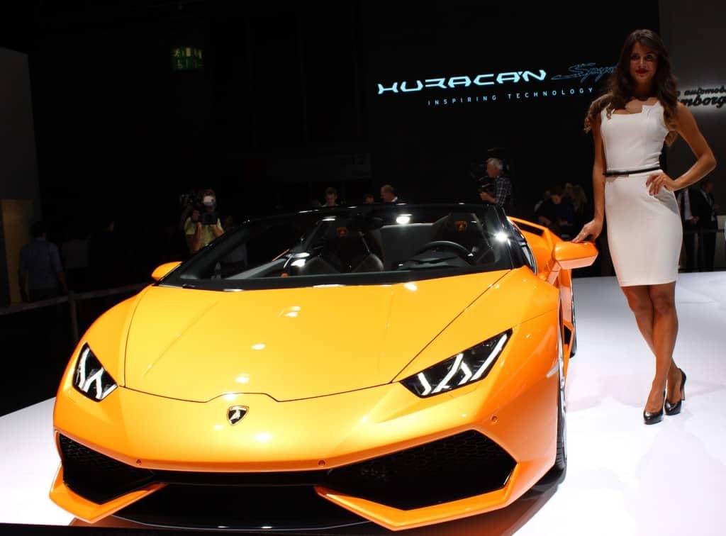 IAA 2015 - Lamborghini Huracan