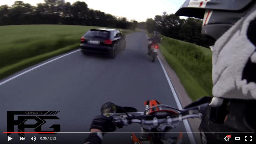 Video: Audi A3 Crash gefilmt