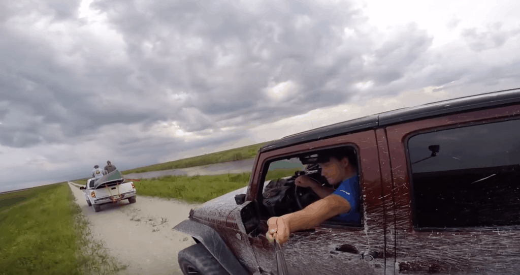 Jeep Selfie - Stick Fail