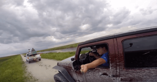 Jeep Selfie - Stick Fail