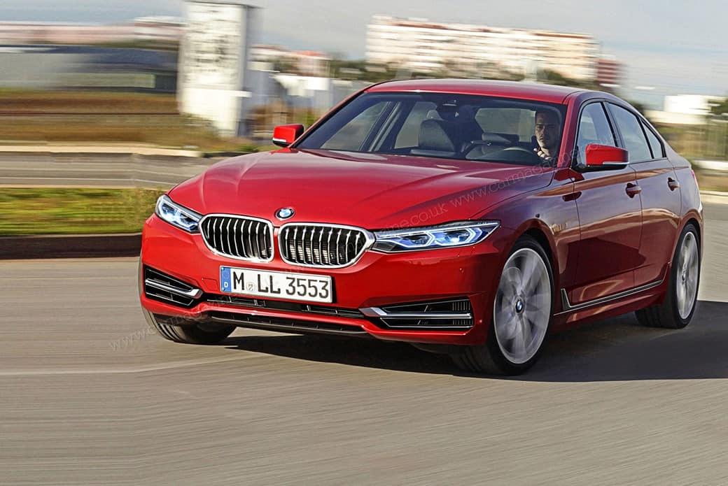 BMW 3er G20 Rendering