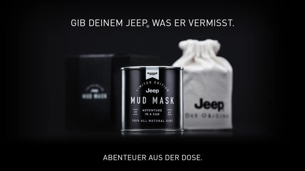 Die Jeep Mud Mask