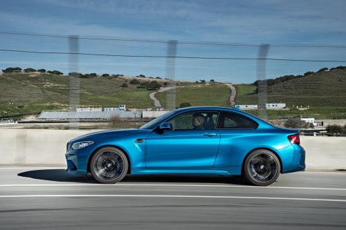 BMW M2 in Long Beach Blue