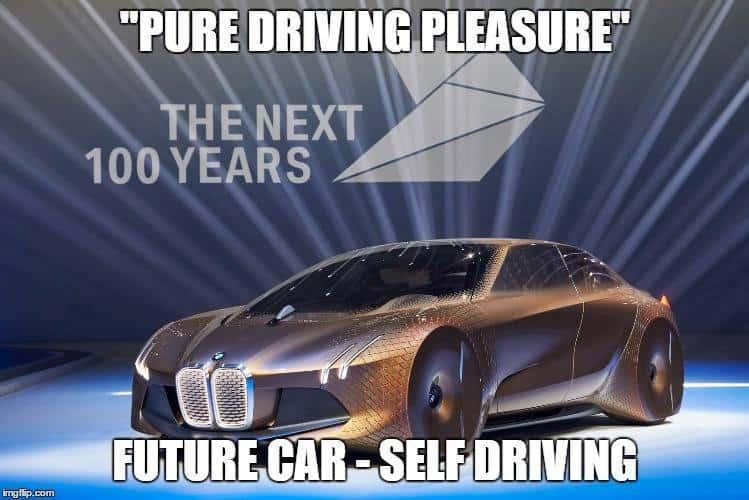 BMW Vision Next 100 Meme