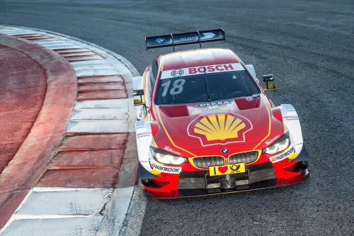 Shell BMW M4 DTM fährt Augusto Farfus