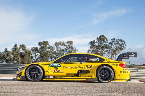 Kein Wagentausch: BMW M4 DTM von Timo Glock