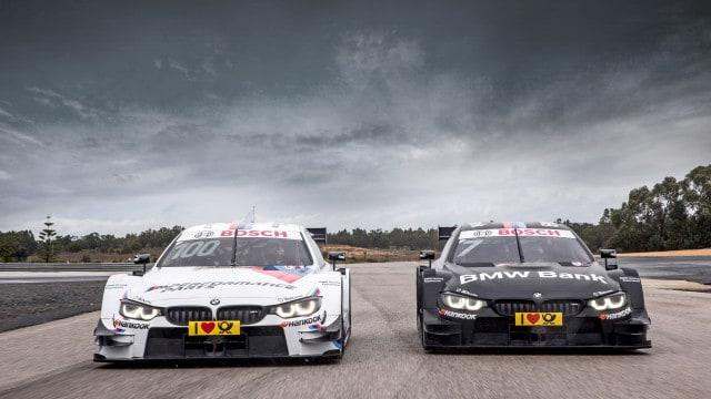 Keine Wagentausch: BMW M4 von Bruno Spengler (Schwarz) und Martin Tomczyk (Weiß)
