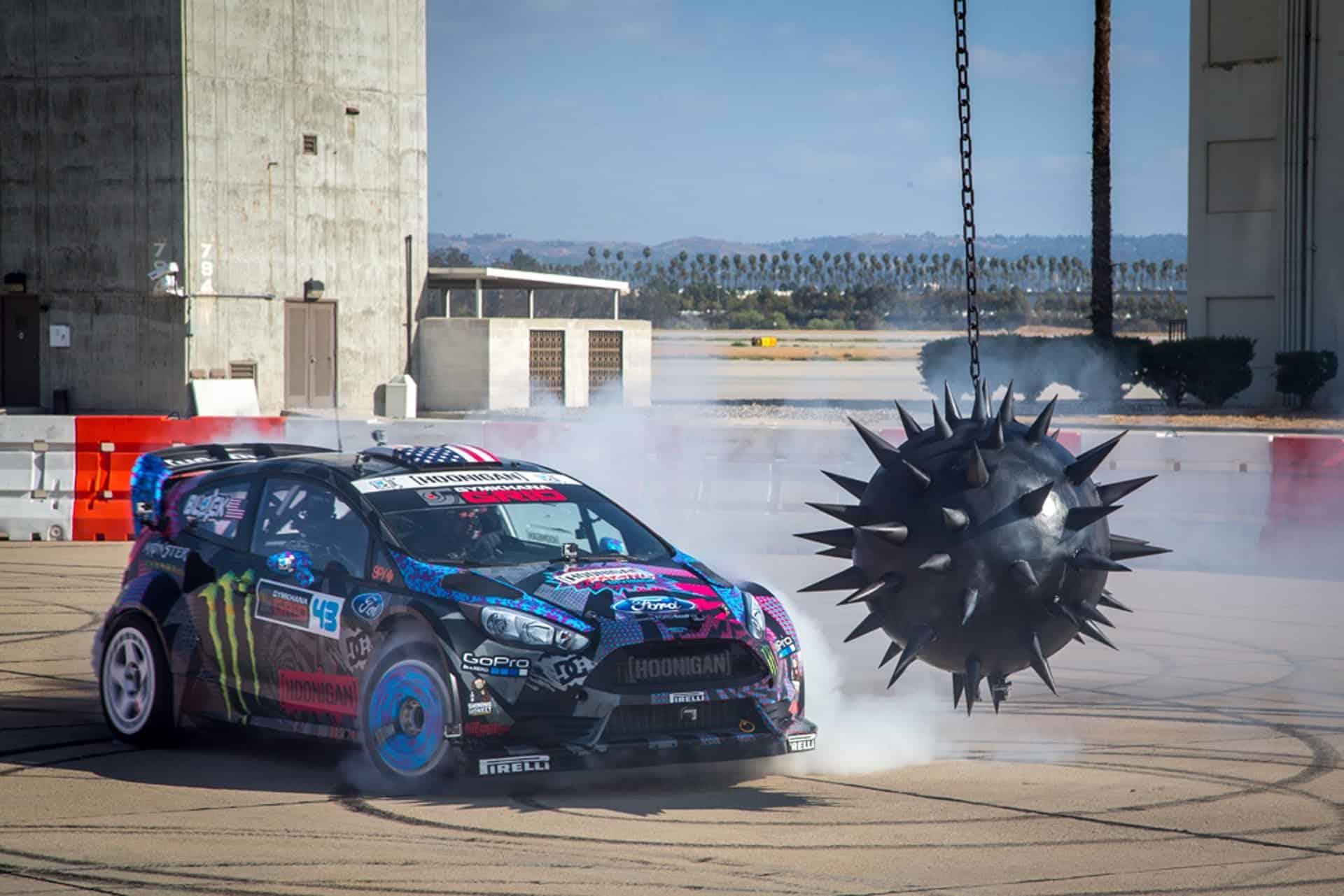 Ken Blocks drift Ford Fiesta