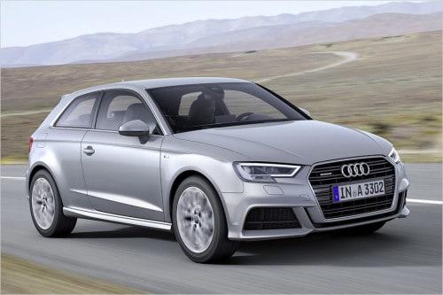 Audi A3 Facelift (2016)