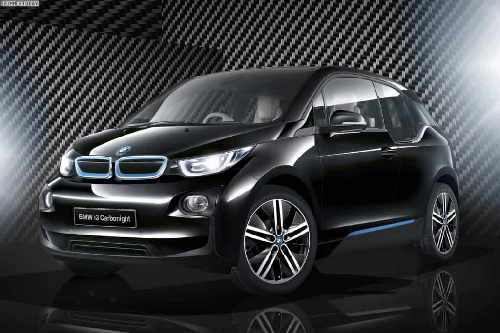 BMW i3 Sondermodell in Fluid Black