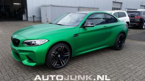 BMW M2 in Giftgrün