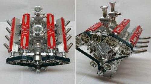 V8 Motor zum selbst bauen