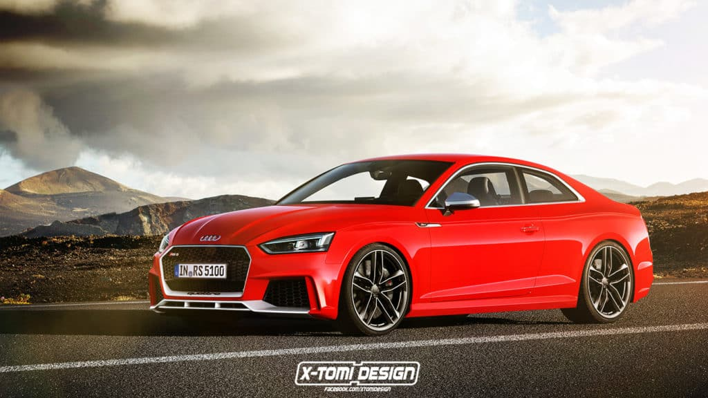 Illustration: Audi RS5