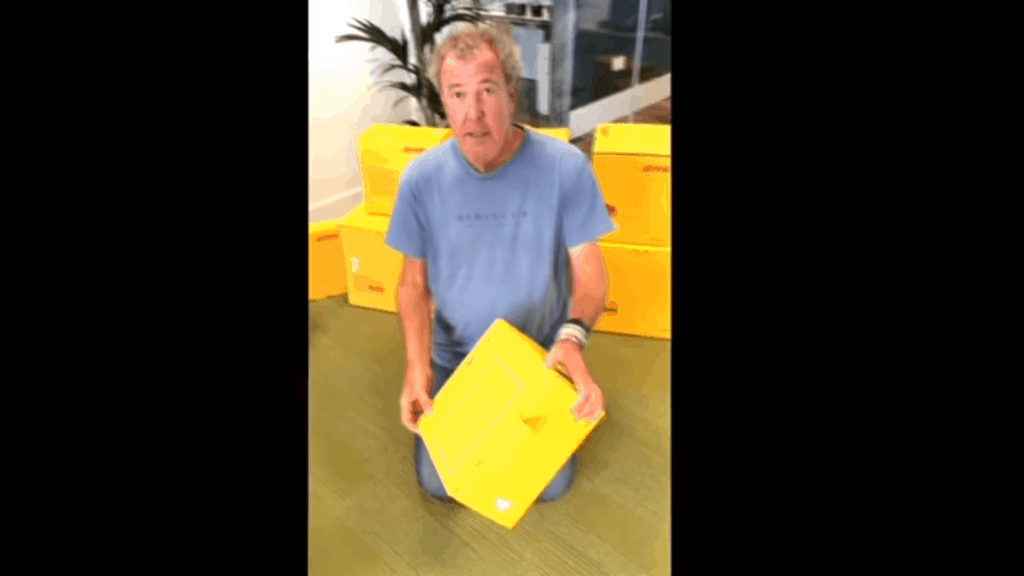 Clarkson - DHL Box Challenge
