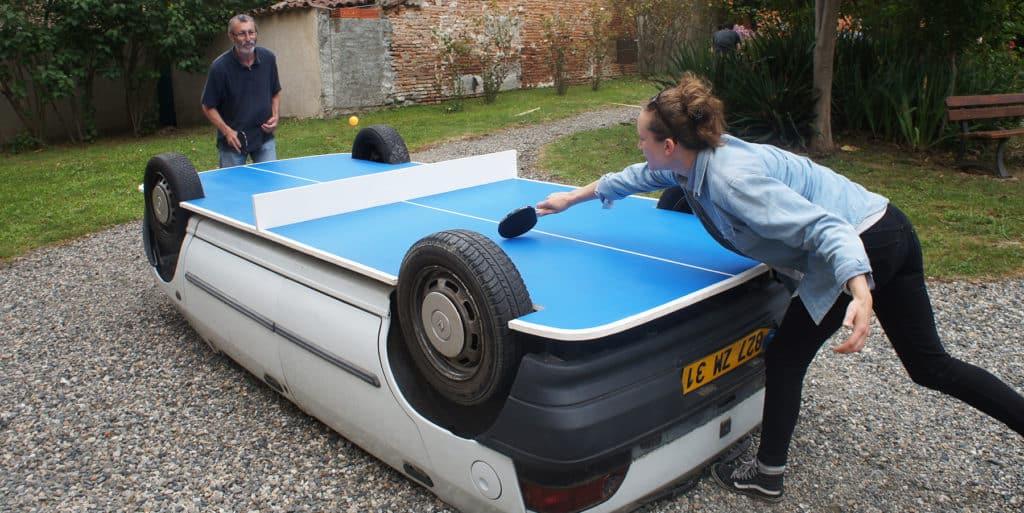 benedetto bufalino Auto Tischtennisplatte