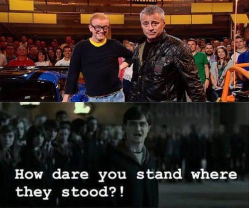New Top Gear Harry Potter
