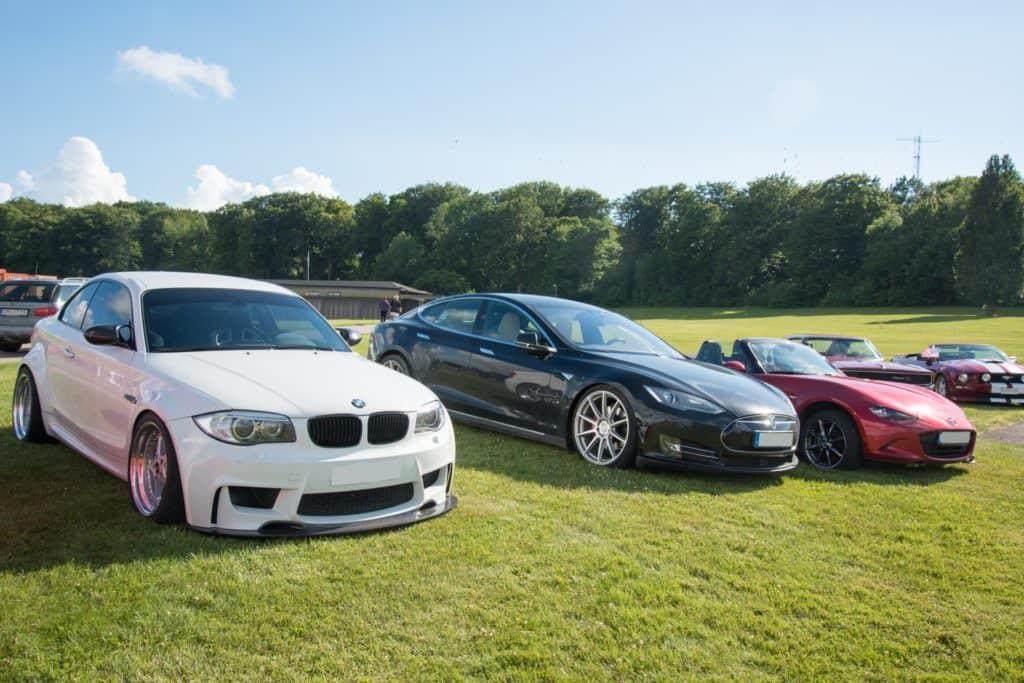 BMW 1er M Coupé & Tesla Model S