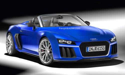 Audi R6 Rendering