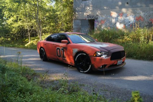 Dodge Charger im Rost Look