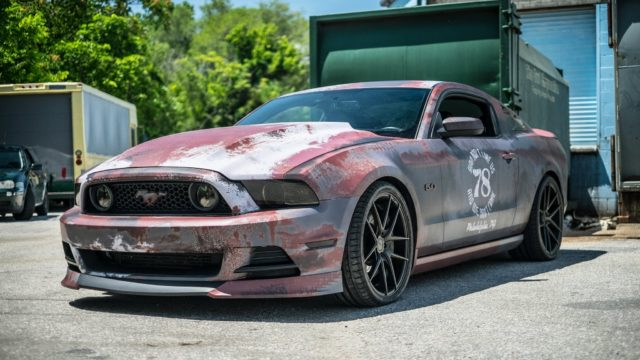 Ford Mustang im Rost Look