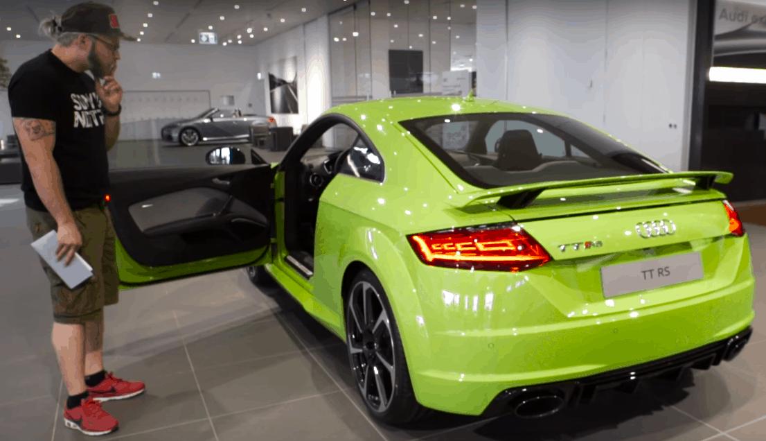 Audi TT RS Sound Neckarsulrm