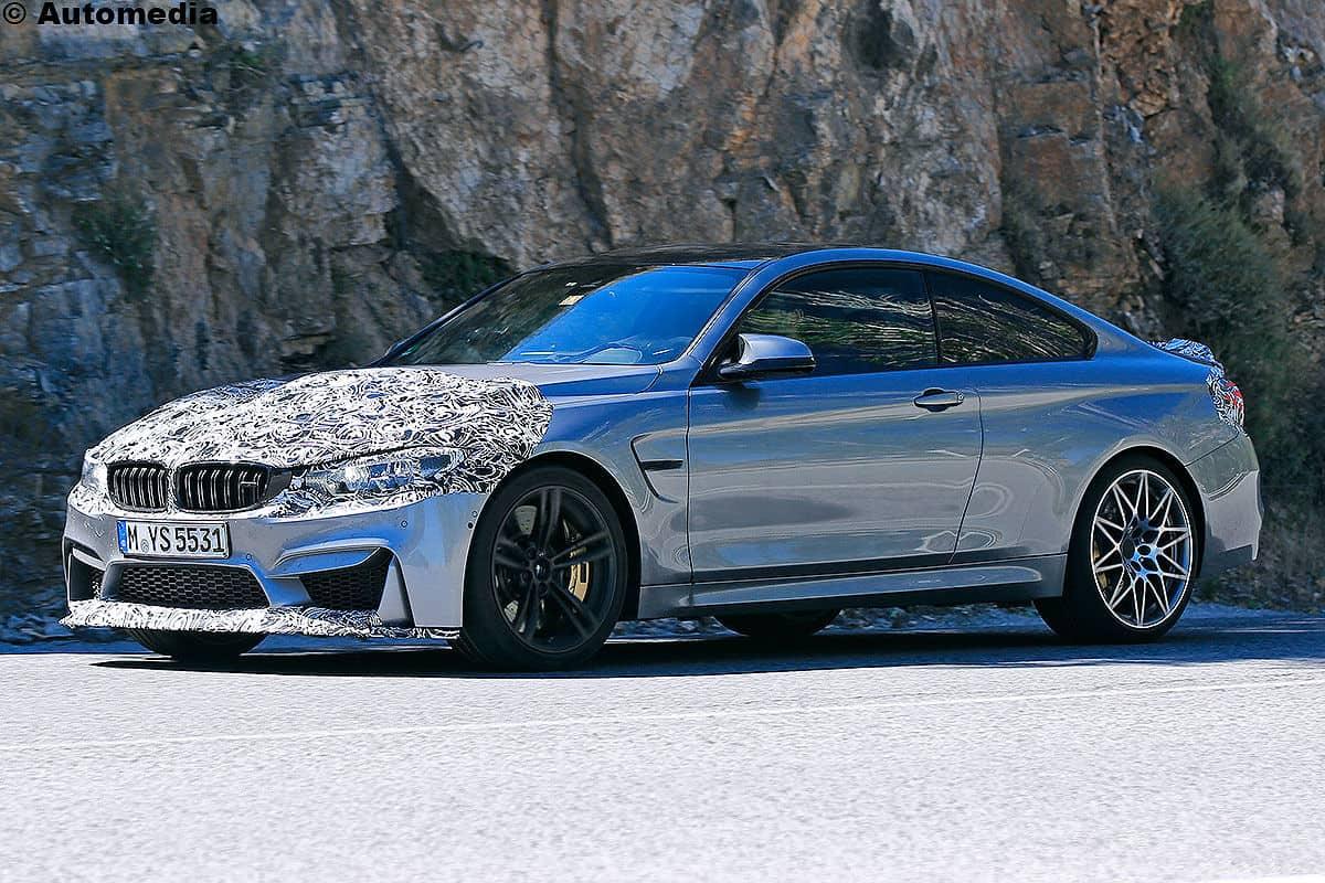BMW M4 Facelift als Erlkönig