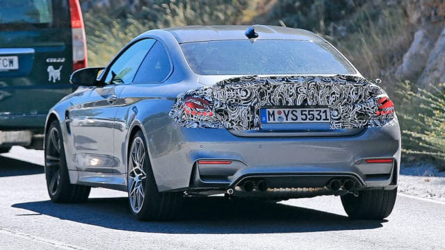 BMW-M4-F82-Facelift-Erlkoenig_Heck