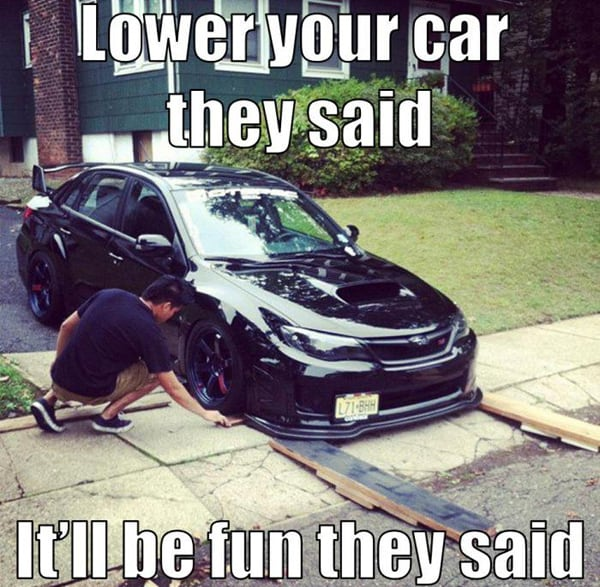 Lower your Car