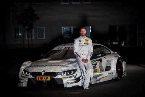 Martin Tomczyk mit neuem Design am BMW M4 DTM