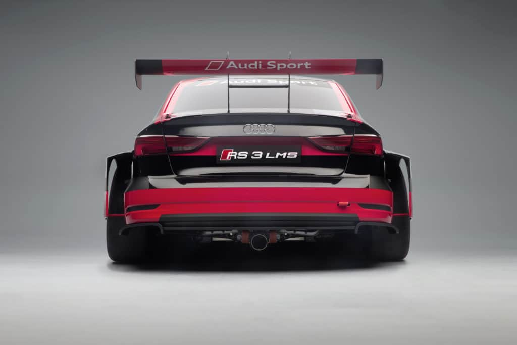 Audi RS3 LMS Exterior