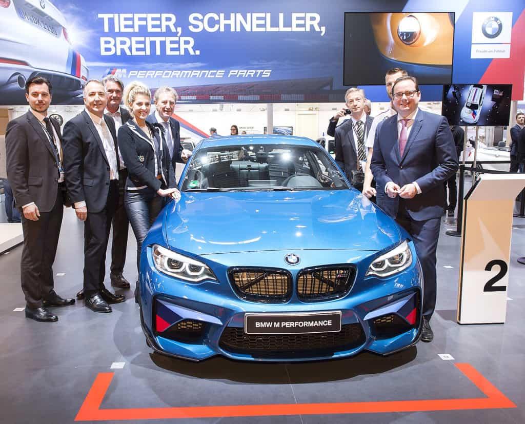 BMW M2 mit BMW M Performance Zubehör