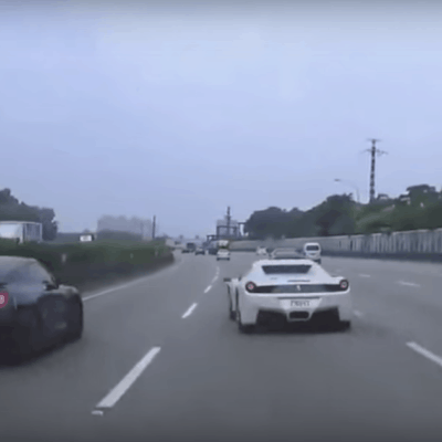 Video: Nissan GT-R Crash