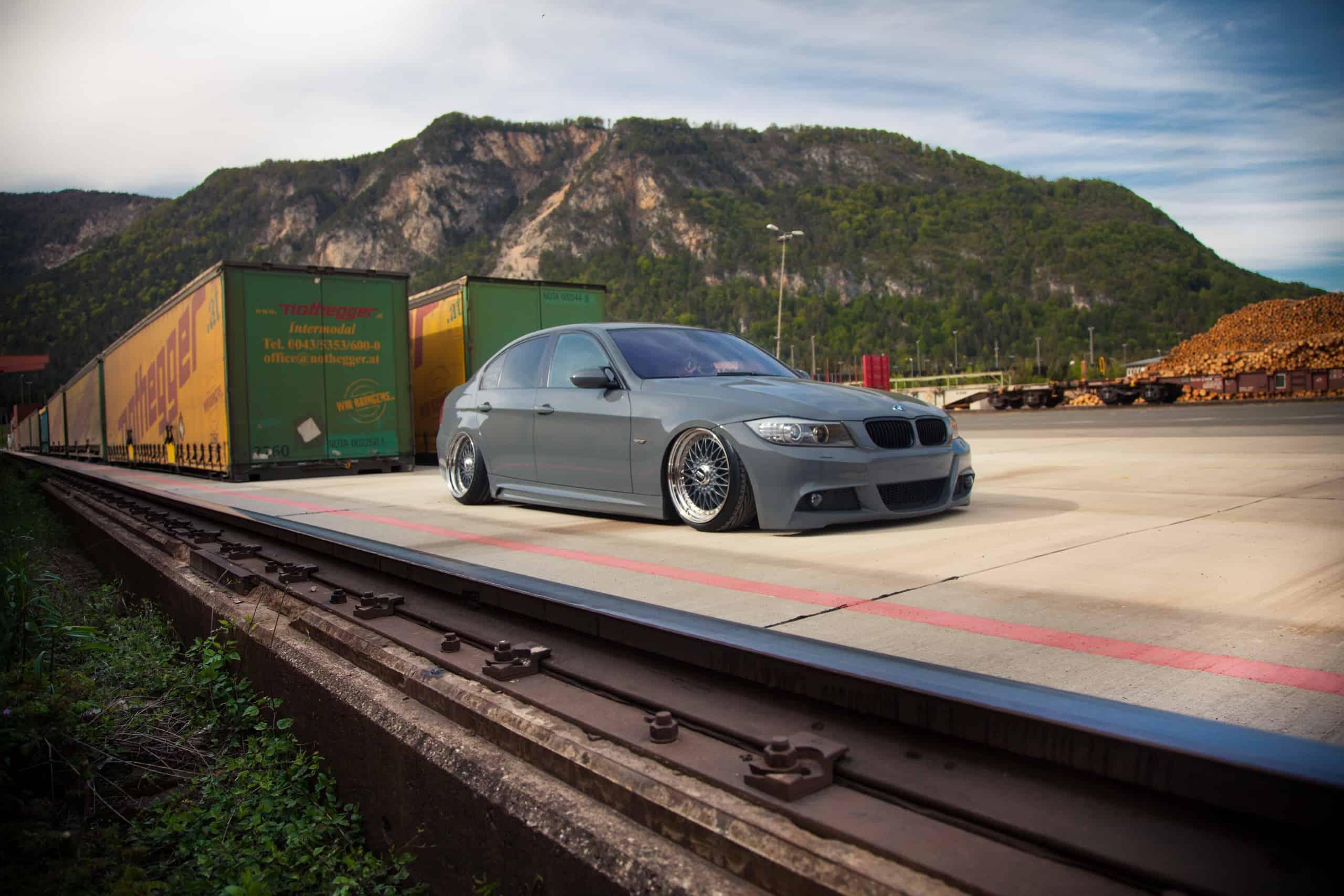 BMW 3er E90 mit BBS RC Felgen von NWBMW