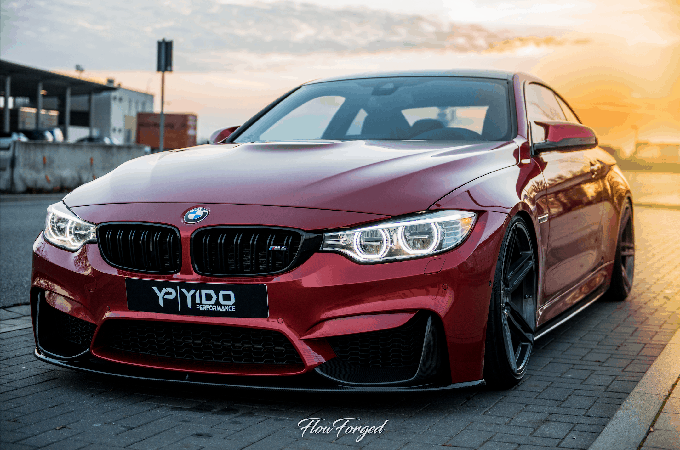 BMW M4 mit Z-Performance Flowforged Felgen